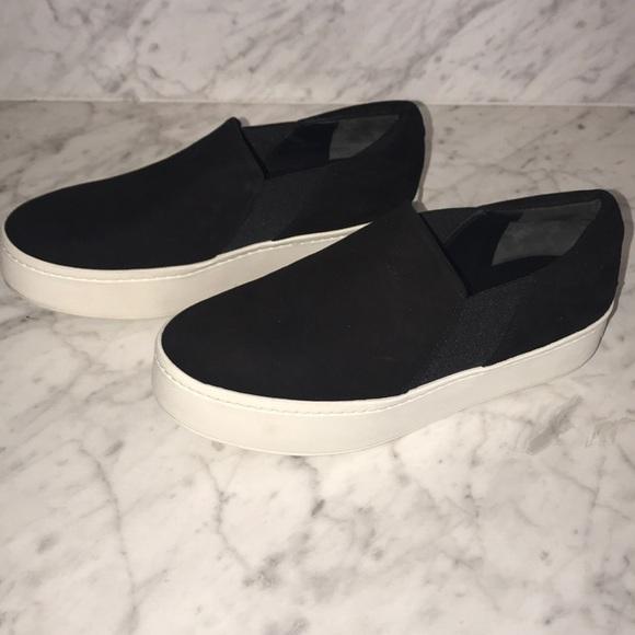 7f2267c21d7 Vince Warren Slip-On Sneaker - Black suede